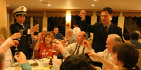 captain's party on yangtze cruise