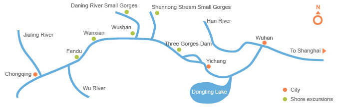 Yangtze Map