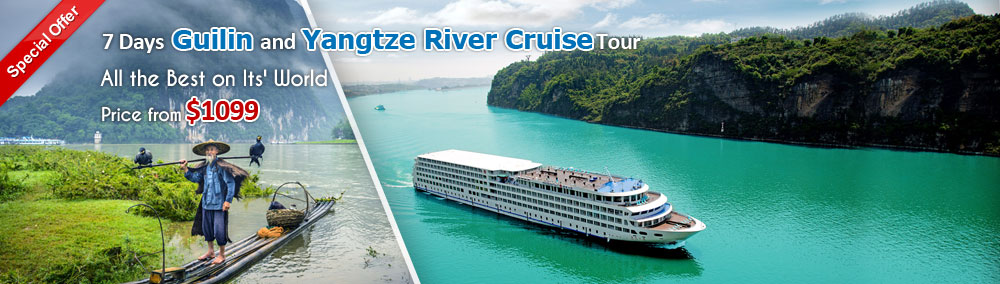 Guilin and Yangtze River Cruise Tour