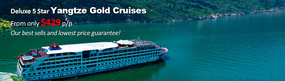 Yangtze Gold Cruise Ships Special Offer