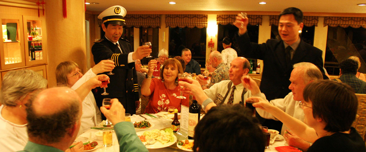 President Cruises Captain Welcome Party