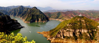 Three Gorges on the Yangtze River